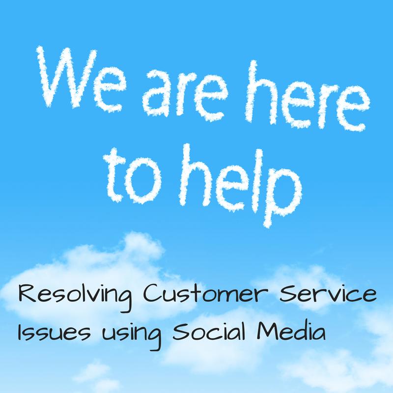 using social media for customer service
