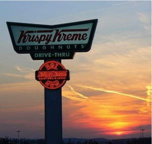 Friday Fun The Krispy Kreme Hot Light App