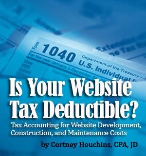 Is Your Website Tax Deductible?